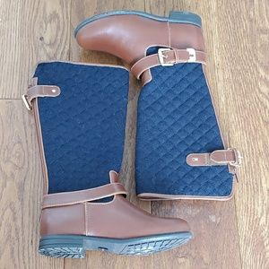 Girls sz. 13 Tommy Hilfiger quilted tall boots